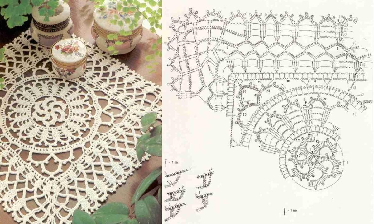 modele crochet d 39 art gratuit. Black Bedroom Furniture Sets. Home Design Ideas