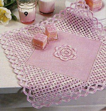 modele crochet facile napperon 2. Black Bedroom Furniture Sets. Home Design Ideas