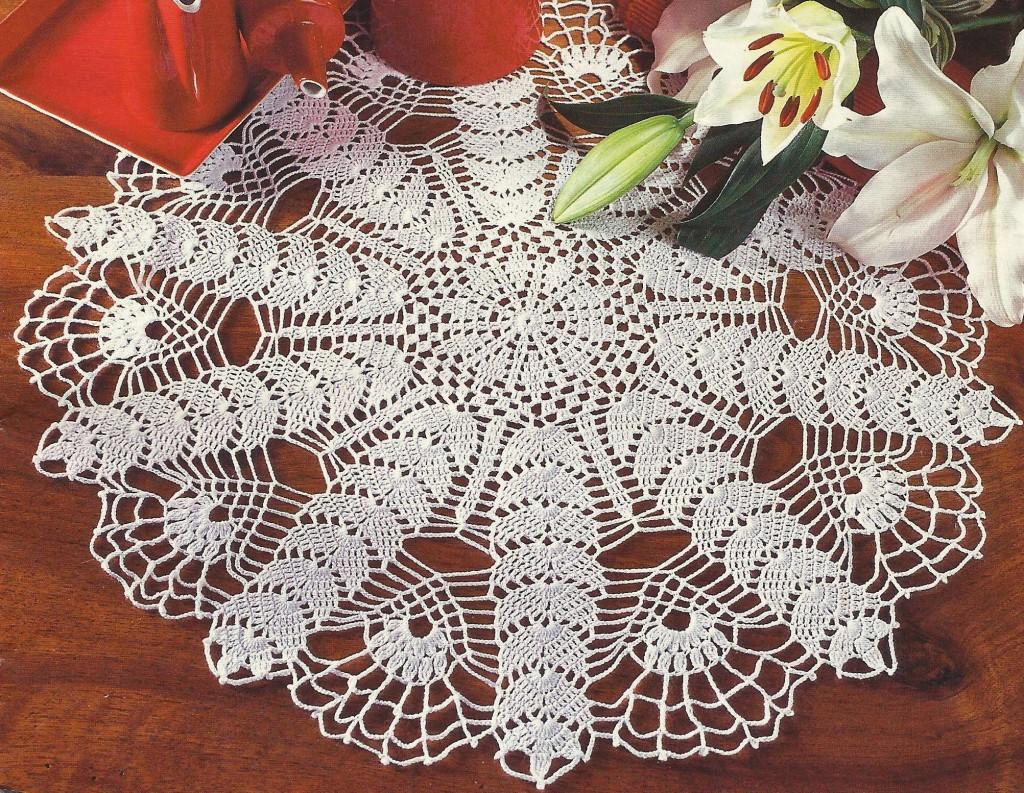 Modele crochet facile napperon 3 - Modele tapis crochet gratuit ...