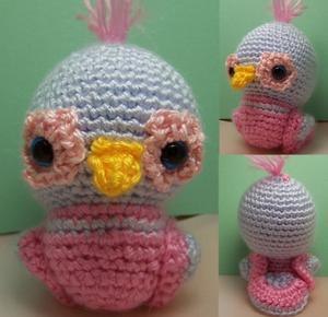Amigurumi Au Crochet Modele Gratuit : modele crochet oiseaux