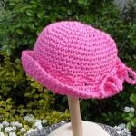 patron crochet chapeau