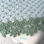 patron crochet couverture bebe
