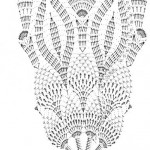patron crochet napperon