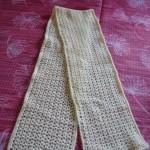 tricot crochet foulard