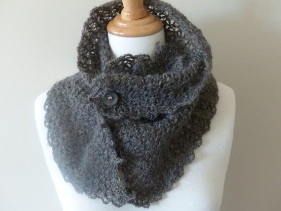 comment tricoter un foulard au crochet
