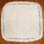 tricot lavette crochet