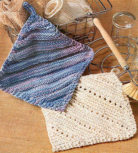 comment tricoter une lavette