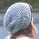 modele crochet bonnet femme