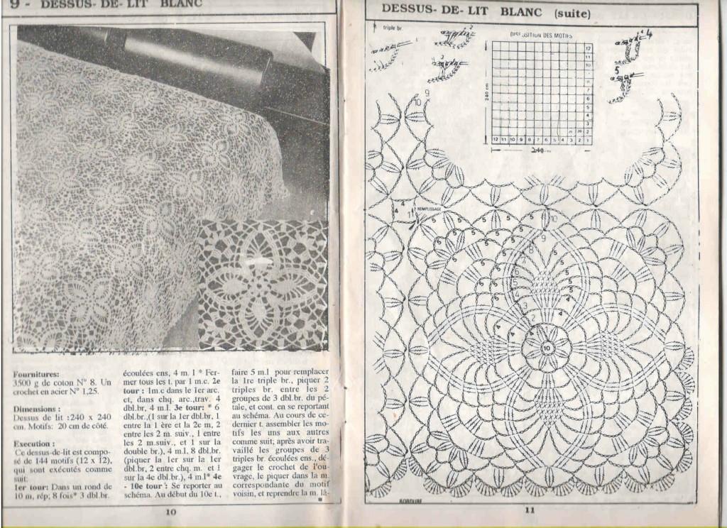 modele crochet dessus de lit 7. Black Bedroom Furniture Sets. Home Design Ideas