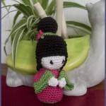 modele kokeshi crochet