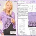 patron crochet bolero