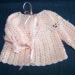 tricot crochet layette