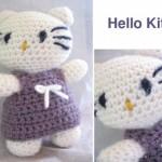 tricot et crochet hello kitty