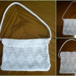 grille crochet sac