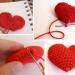 patron crochet coeur