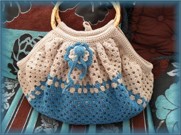 Tuto crochet sac boule - Tuto pour creer un sac en crochet ...