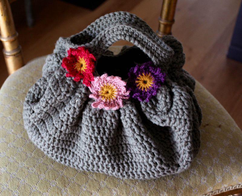 Des Sacs En Crochet : Tuto crochet sac boule