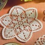 grille crochet fleur