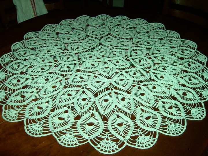 Grille crochet napperon gratuit - Napperon crochet grille gratuite ...