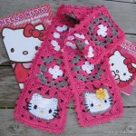modele crochet bonnet hello kitty