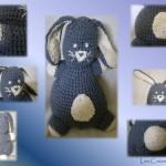 patron crochet lapin