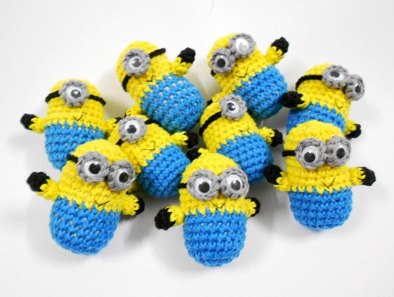 patron crochet minion