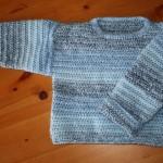 patron crochet pull