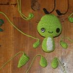 patron crochet yoda