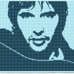 grille crochet johnny hallyday