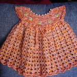 patron crochet vestido
