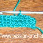 tuto crochet maille serree