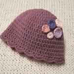 grille bonnet en crochet