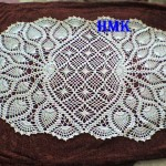 grille chemin table crochet