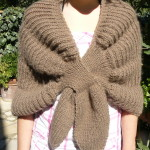 patron crochet liseuse