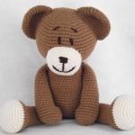 patron crochet oso