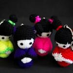 patron kokeshi crochet