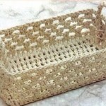 tuto crochet rectangle
