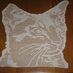 grille crochet chat