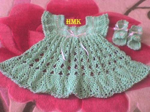 Grille crochet robe bebe 12 - Robe bebe en crochet avec grille ...