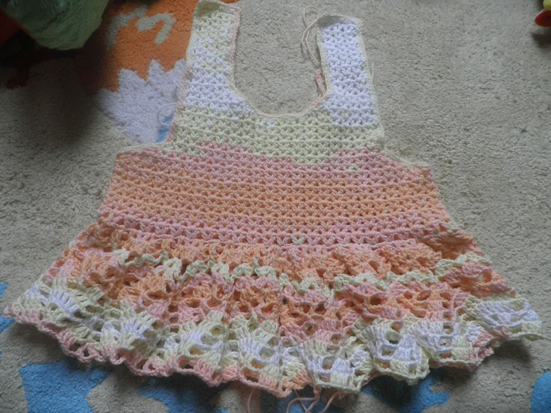 Grille crochet robe bebe 16 - Robe bebe en crochet avec grille ...