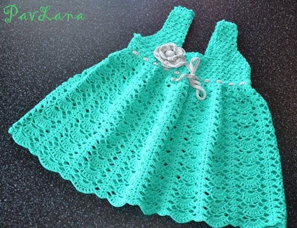 Grille crochet robe bebe 20 - Robe bebe en crochet avec grille ...