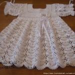 grille crochet robe bebe