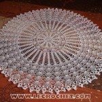 grille crochet rond