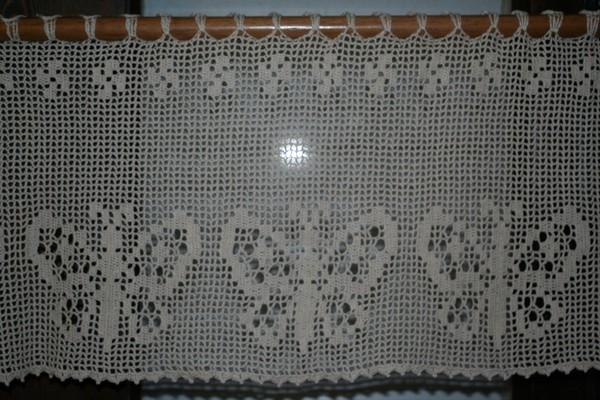 Modele crochet rideau gratuit 2 for Modele rideau