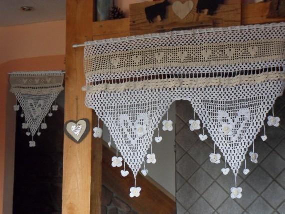 Modele crochet rideau gratuit 13 for Modele rideau