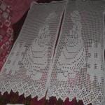 modele crochet rideau gratuit