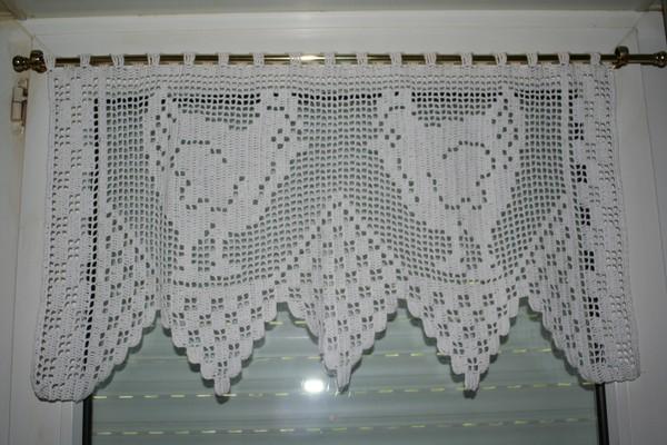 modeles rideaux cuisine crochet. Black Bedroom Furniture Sets. Home Design Ideas