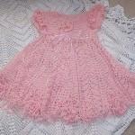 modele crochet robe bapteme