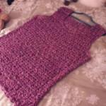 patron crochet debardeur