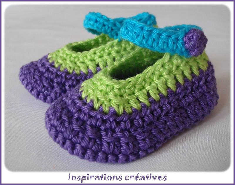 tuto crochet facile gratuit 4. Black Bedroom Furniture Sets. Home Design Ideas